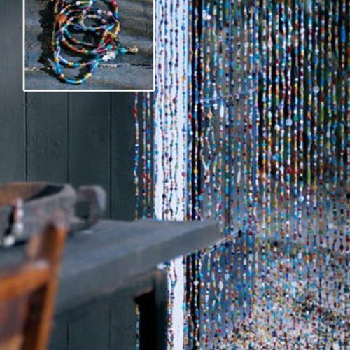 Oosters glaskralengordijn | Modern interieur | Ibiza meubelen | Oosterse meubels