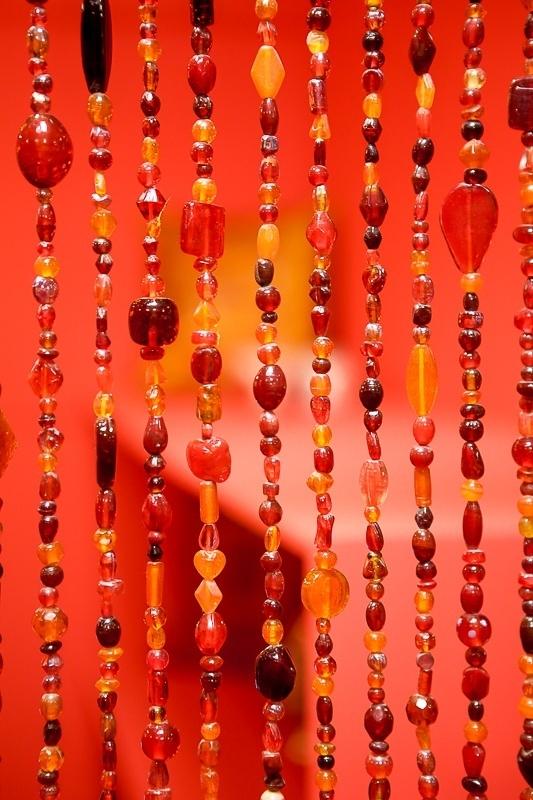 Oosters kralengordijn | Oosterse meubelen | Marokkaanse lampen | Amsterdam