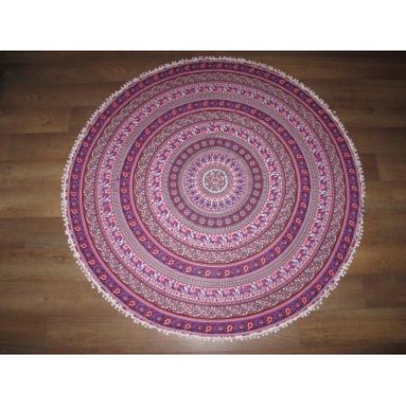Oosterse kleden mandala chakra roundies