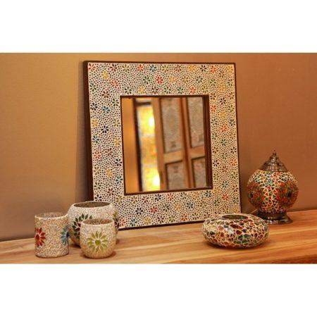 Oosterse spiegel | Mozaïek | Marokkaanse spiegel | Oosterse inrichting | Accessoires