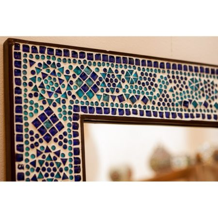 Mozaïek spiegel | Oosterse accessoires | Happiness inrichting | Kalini | Amsterdam