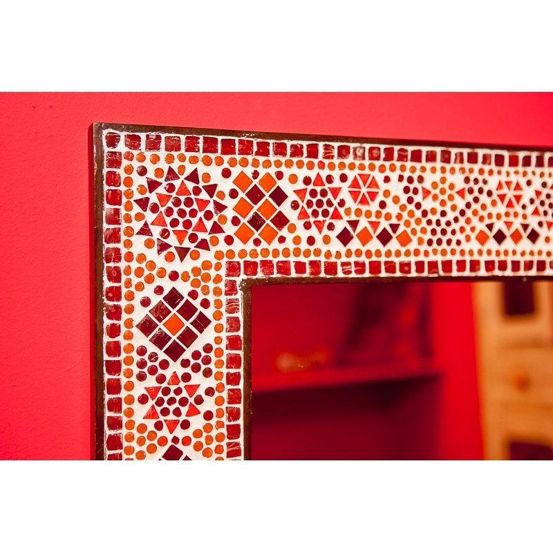 Oosterse spiegel | Mozaïek | Oosters interieur | Badkamer spiegel | Gang | Amsterdam