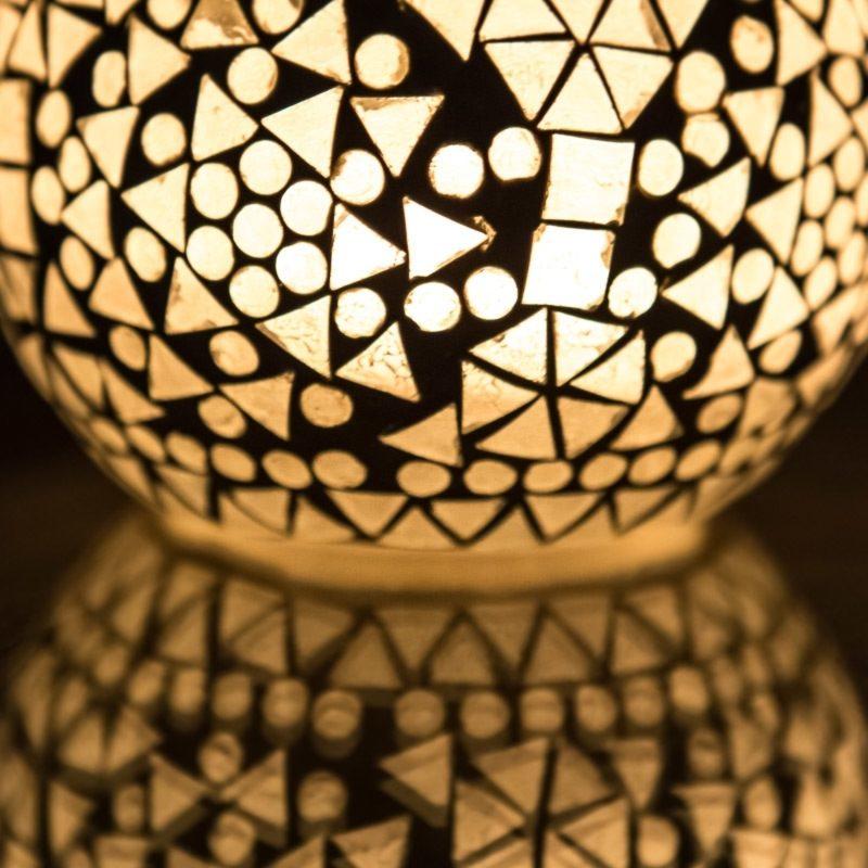 Oosterse waxinehouder   Sfeerverlichting   Oosters interieur   Marokkaanse lantaarns