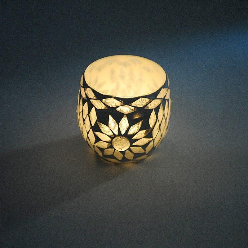 Oosterse waxinehouder | Marokkaanse verlichting | Mozaïek