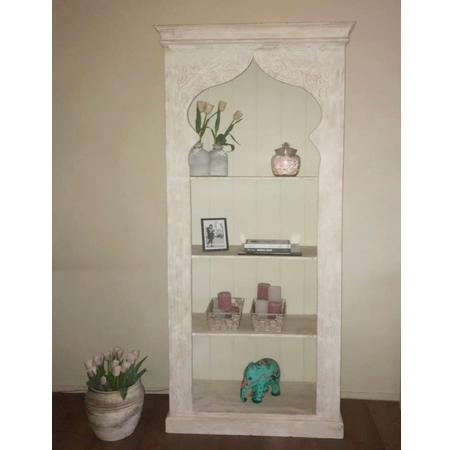 Marokkaanse kast | Oosterse meubelen | Arabisch houtsnijwerk | Oosters meubel
