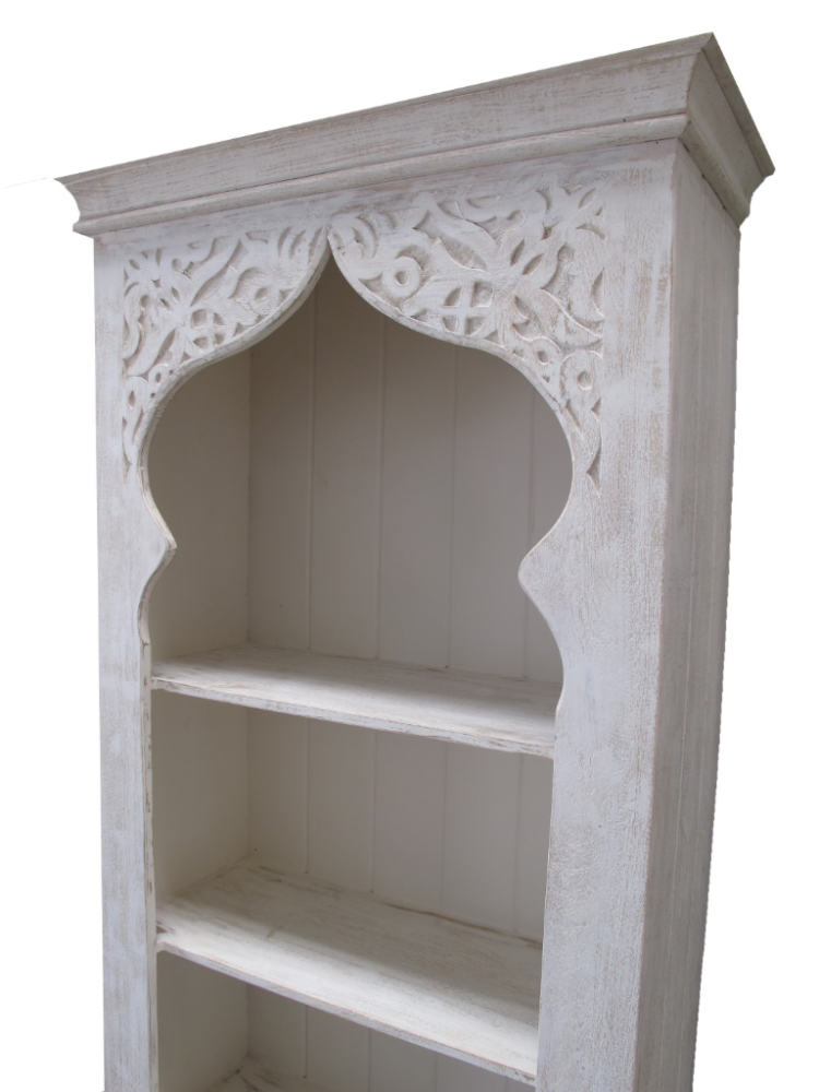 oosterse boekenkast marokkaanse kasten arabische meubelen whitewash oosterse kast marokkaanse meubelen oosters interieur arabische meubels