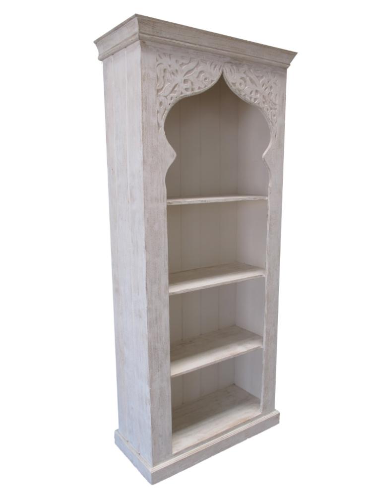 Oosterse boekenkast | Marokkaanse kasten | Arabische meubelen | Whitewash
