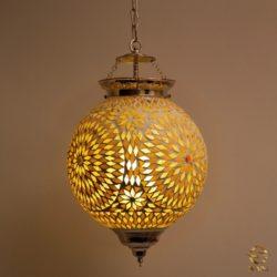Oosterse hanglamp | Mozaïek | Marokkaanse lamp | Arabisch inrichting