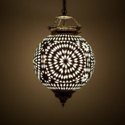 Oosterse hanglamp | mozaïek | Marokkaanse lamp