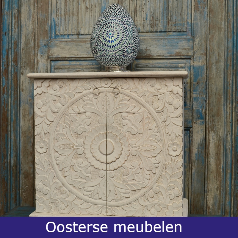 Oosterse meubelen | Lotus | Marokkaanse kast