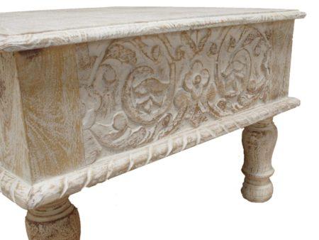 Marokkaanse meubels | Oosterse salontafel | Oosters interieur | Whitewash