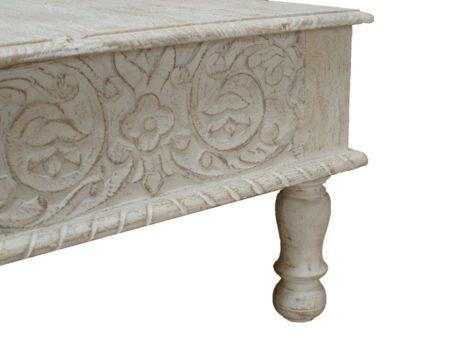 Marokkaanse salontafel | Houtsnijwerk | Oosterse meubelen