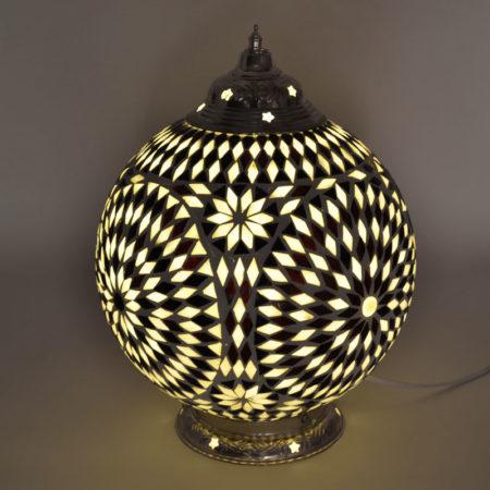 Oosterse tafellamp | Marokkaanse lamp | mozaïek | Oosters interieur | Arabische lamp