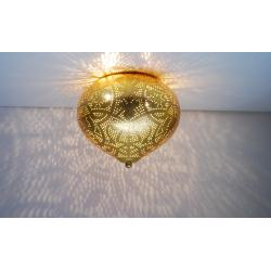 Oosterse plafondlamp   Goud   Filigrain   Arabische lampen   Oosters interieur