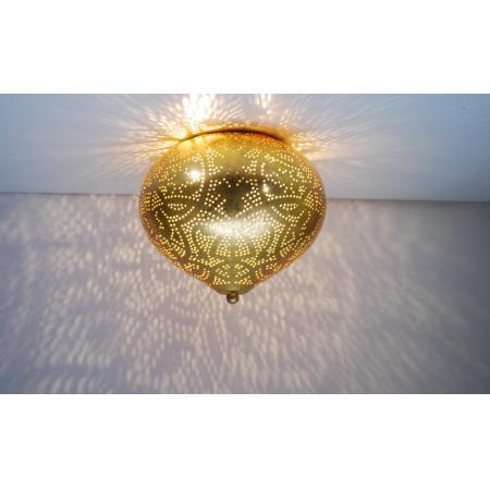 Oosterse plafondlamp | Goud | Filigrain | Arabische lampen | Oosters interieur