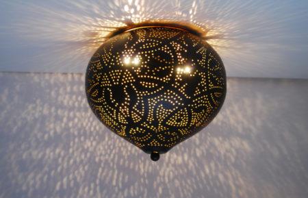 Oosterse plafonnière Onion | Arabisch Filigrain | Oosterse lamp