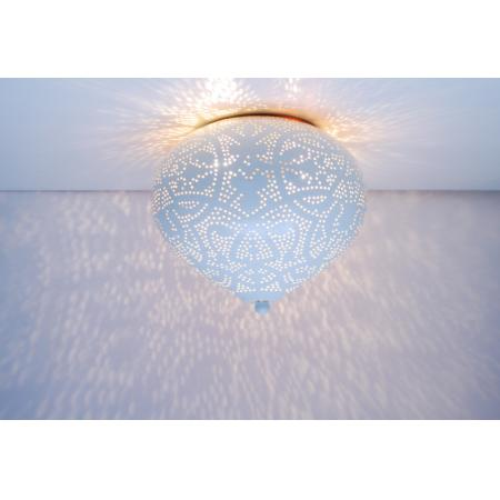 Oosterse plafonnière | Filigrain | Arabisch lichteffect | Oosterse lampen