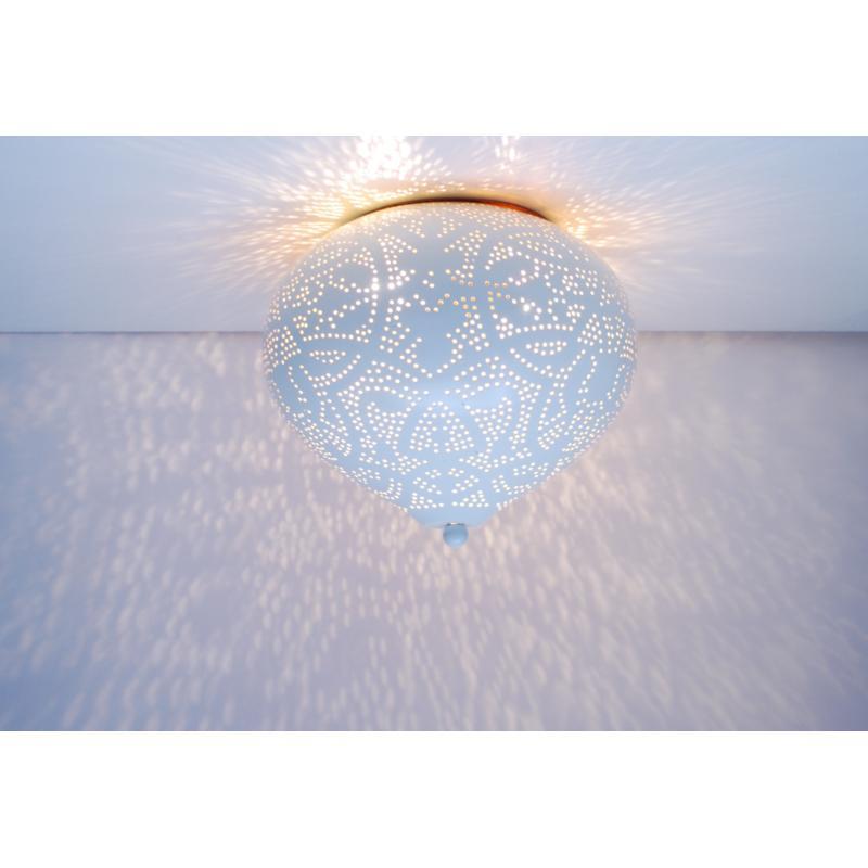 Oosterse plafonnière   Filigrain   Arabisch lichteffect   Oosterse lampen