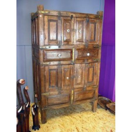 Traditioneel Oosterse kast | Bandara | Antieke kast | Authentieke meubelen | Teakhout