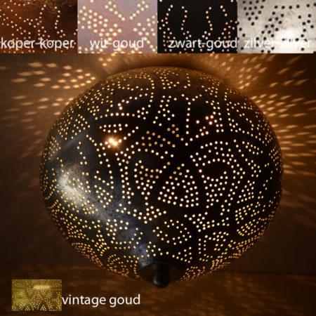 Oosterse plafondlamp | Filigrain | Arabisch | Marokkaanse plafonnière | Oosterse lampen
