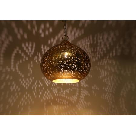 Filigrain hanglamp | Oosterse lampen | Goud | Arabische lamp | Egyptisch filigrain