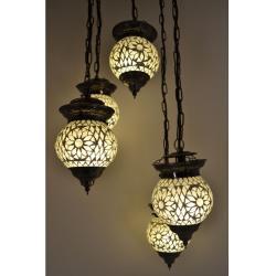 Oosterse lamp mozaïek | Arabische lampen | Marokkaanse lamp | Oosters interieur