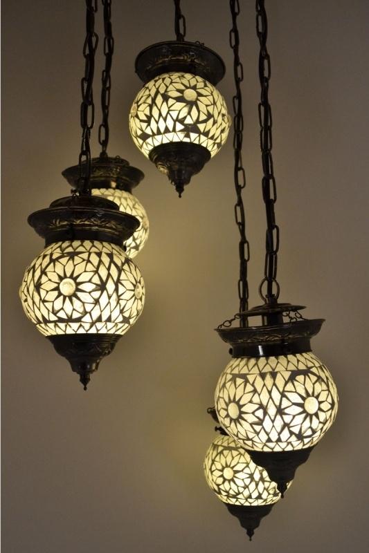 Oosterse lamp mozaïek   Arabische lampen   Marokkaanse lamp   Oosters interieur