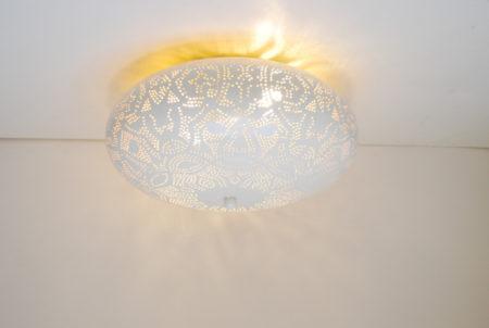 Oosterse filigrain plafonniere | Oosters interieur | Marokkaanse lampen