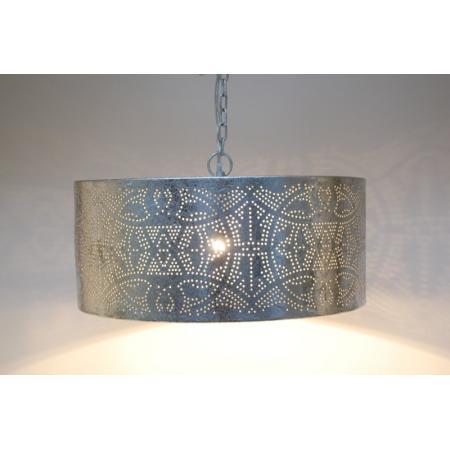 Oosterse hanglamp | Filigrain | Cilinder | Marokkaanse lampen