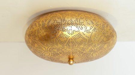 Arabische lampen   Oosterse plafonnière   Marokkaanse verlichting   Goud