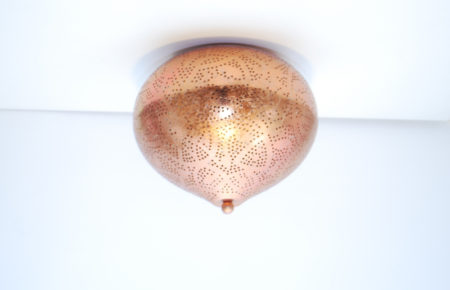 Oosterse plafondlamp | Arabisch filigrain | Marokkaanse lampen | Oosters interieur