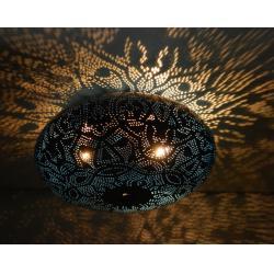 Oosterse filigrain plafonniere | Arabische lampen | Marokkaanse verlichting