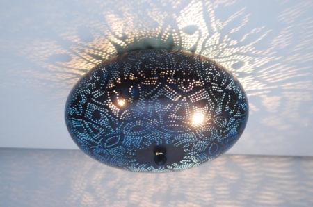 Oosterse plafondlamp   Marokkaanse plafonniere   Filigrain   Oosters interieur