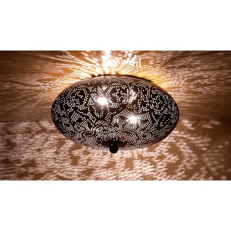 Oosterse plafonniere   Arabische plafondlamp   Marokkaanse lampen