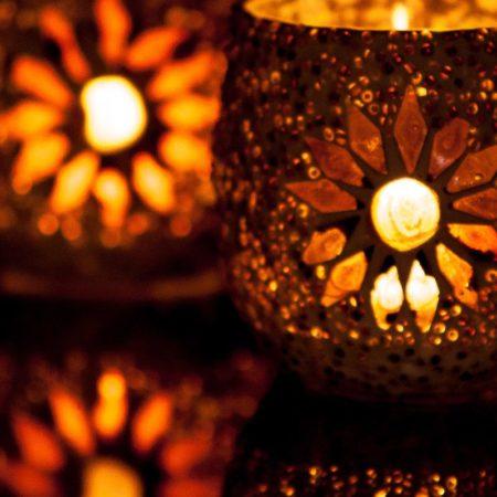 Oosterse waxinehouder | Marokkaanse lampen | Mozaïek | Oosters interieur