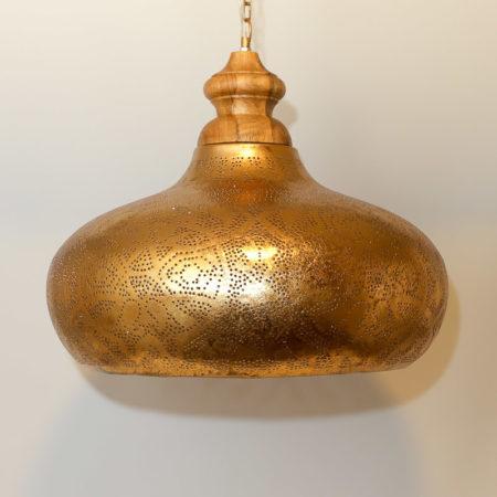 Arabische hanglamp   Vintage goud   Marokkaanse lampen   Oosters interieur