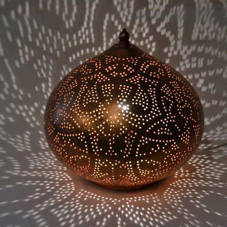 Oosterse tafellamp   Filigrain   Marokkaanse lampen   Arabische verlichting   Oosters interieur   Kalini