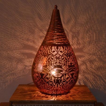 Oosterse tafellamp | Filigrain lamp | Arabische lampen | Marokkaanse verlichting