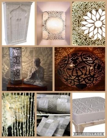 Oosterse lampen en inspiratie tips om te combineren met natuurlijk kleuren Marokkaanse lampen en Arabische meubelen