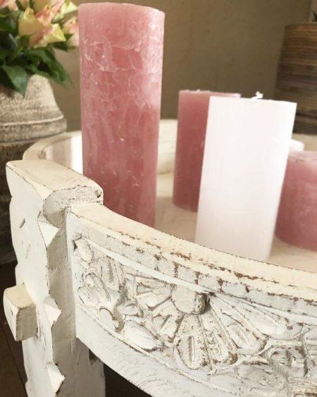 Oosters bijzettafeltje | Marokkaanse kasten | Oosterse meubelen | Arabisch interieur | Kalini | Whitewash