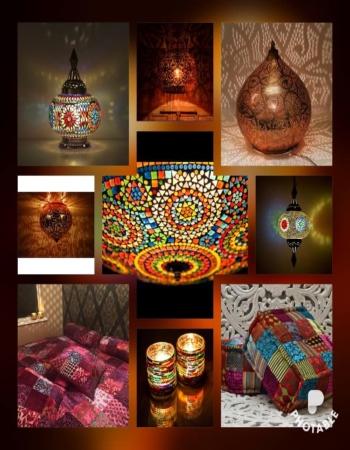 Oosterse waxinehouders prachtig mozaïek en Arabische theelichten Marokkaanse lantaarns