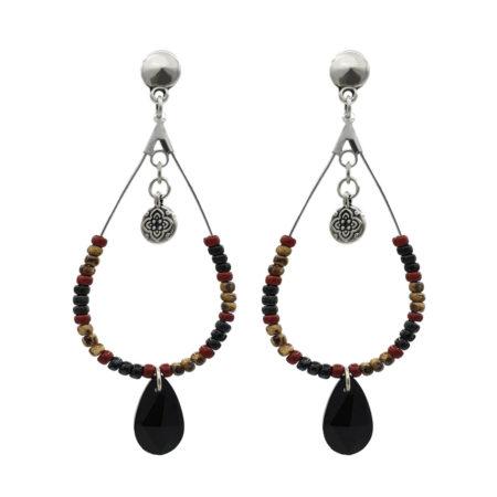 Oorbellen | Arabische oorbellen | Marokkaanse sieraden | Modern handgemaakt