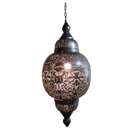 Marokkaanse hanglamp | Arabia | Zilver | Oosterse lampen