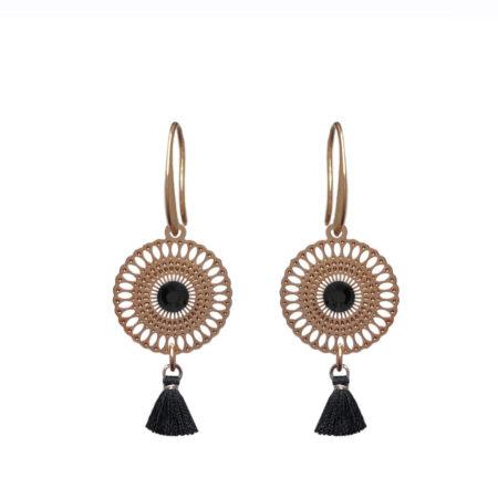 Marokkaanse oorbellen | Rosé gold | Sieraden | Handgemaakt