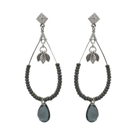 Dames oorbellen | Marokkaanse sieraden | Silver grijs