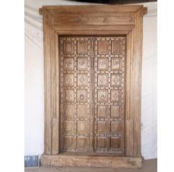Oosterse poort | Houten deuren | Massief | India poort | Kasteeldeur | Arabische poort