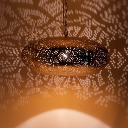 Oosterse hanglamp | Marokkaanse lampen | Filigrain | Metaal | Oosterse stijl