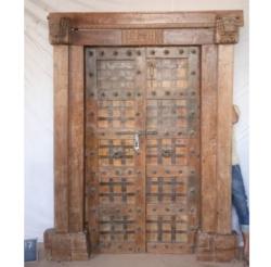 Oosterse poort | Tempeldeur | India poort | Kasteeldeur | Massief houten poort