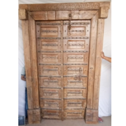 Oosterse poort | India | Gujarat | Kasteel poort | Oosterse deur