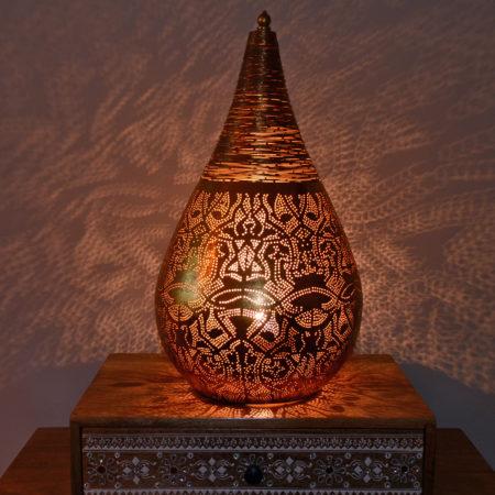 Oosterse tafellamp | Oosterse lampen | Marokkaanse tafellamp | Filigrain